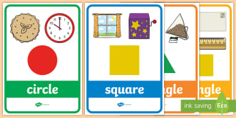 Compare and sort common 2D and 3D shapes - New 2014 Curriculum