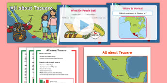 KS1 All about Tocuaro Activity Pack - mexico, north america, michoacan, spanish, masks, village, mexican,