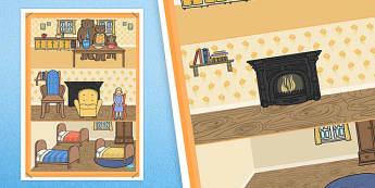 Goldilocks and the Three Bears Interactive Poster - poster, display