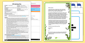 Jasper's Magic Beans EYFS Adult Input Plan and Resource Pack to Support Teaching on Jasper's Beanstalk - adult led, Jasper's Beanstalk