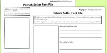 Patrick Sellar Differentiated Fact File Template - patrick sellar