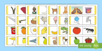 Initial Sound Picture Loop Cards - flashcards, loop, image, letters and sounds, phase 1, phase one, DfES Letters and Sounds, initial so