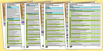 Guided Reading Assessment Guidelines Checklists - guided reading, assessment focus, af, af checklists, assessment focus checklists, af guidelines, reading