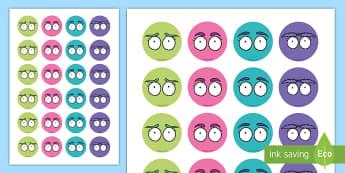 Quiet Critters Token Cut-Outs - Quiet, Behaviour, Classroom, KS1, EYFS,Behaviour Management,