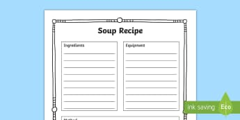 Soup Recipe to Support Teaching on Under the Hawthorn Tree-Irish - Resources to Support The Teaching Of Under the Hawthorn Tree, quiz, under the hawthorn tree, stories