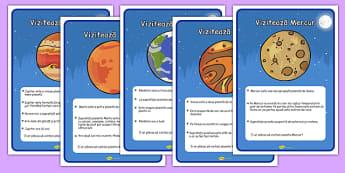 Călătorii în spațiu - Planșe informative - spațiu, cosmos, fotografii, planșe informative, cadru de scriere, pașaport, intergalactic, planete, în spațiu, univers, stele, planșe, imagini, cuvinte, materiale didactice, română, romana, material, materia