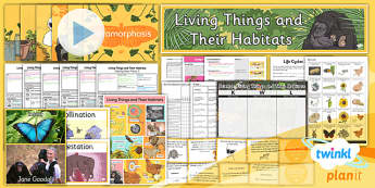 Science: Living Things and Their Habitats Year 5 Unit Pack
