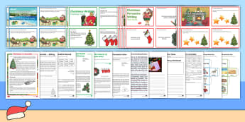 Christmas in Australia Upper Resource Pack - Christmas around the world, literacy, reading, writing, December, celebration,