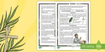 KS2 Easter Differentiated Fact File - KS2 Easter 2017, KS2 Easter, ks2 easter, easter, Easter, ks2 Easter, Easter fact file, easter fact f