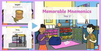 Memorable Mnemonics PowerPoint