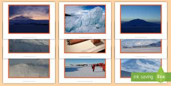 Mount Erebus Disaster Photo Pack - natural, earthquake, tsunami, volcano, monsoon, hurricane, flood, tornado