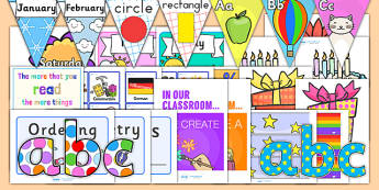 Teaching Assistant Display Pack - TA, TA pack, classroom display