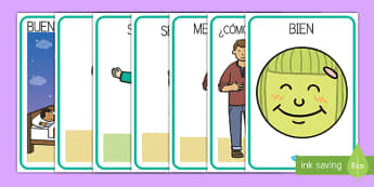Pósters de vocabulario de saludos y conocerse - póster, saludos, vocabulario, conocerse