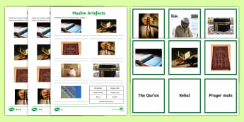 Muslim Artefacts Activity Pack - Islam, Islamic, Special Objects, World Religion, Beliefs,Scottish