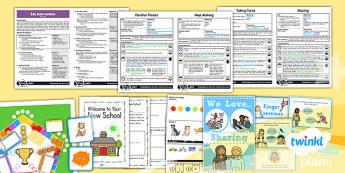 PlanIt - EAL Intervention - Basic Skills: Settling Into School Pack