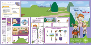 The Making of Milton Story Sack Resource Pack - Twinkl originals, fiction, KS1, EYFS, Home learning, Parents, story activities, recipes, craft, worr