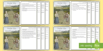Guided Reading Activity Sheet to Support Teaching On Under the Hawthorn Tree - Resources to Support The Teaching Of Under the Hawthorn Tree, Under the Hawthorn Tree, Guided Readin
