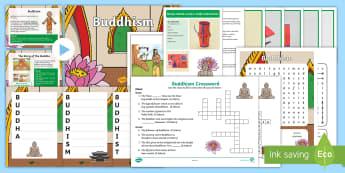 KS1 Buddhism Activity PowerPoint Pack - Buddhist, Interactive, Game, Activities, Quiz