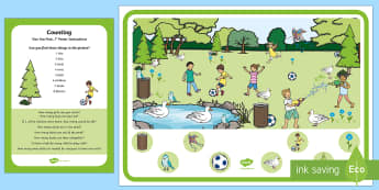 Counting Can You Find...? Poster and Prompt Card Pack - counts, 1:1 correspondence, accurate counting, recite numbers, number recognition