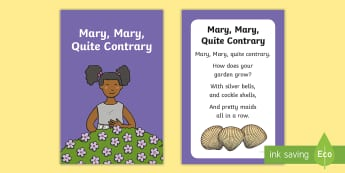 Mary, Mary, Quite Contrary Nursery Rhyme IKEA Tolsby Frame - baby signing, baby sign language, communicate with baby, pre verbal baby, tiny talk, sing and sign,