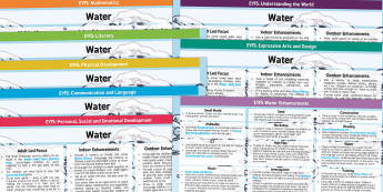 EYFS Water Themed Lesson Plan and Enhancement Ideas - planning, early years lessons, lesson ideas