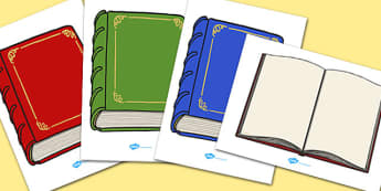 Book Display Cut Outs - book, display, cut outs, display cut outs