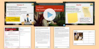 Judaism: The Covenant with Abraham Lesson Pack - judaism, beliefs, teachings, GCSE, KS4, circumcision