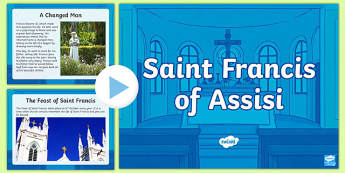 St Francis of Assisi Information PowerPoint
