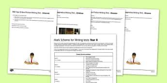 Year 8 GCSE Style Writing Tests - year 8, gcse, style, writing, tests