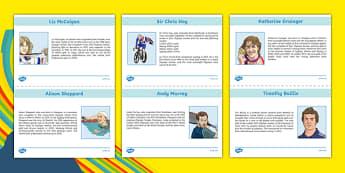 Scottish Olympians Information Sheets-Scottish