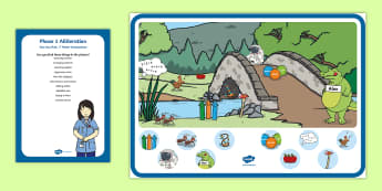 Phase 1 Phonics Alliteration 'a' Can You Find...? Poster and Prompt Card Resource Pack - Phase 1 Phonics Alliteration 'a' Can You Find...? Poster and Prompt Card Resource Pack - KS1, phon