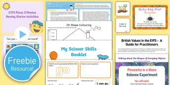 Free England EYFS Taster Resource Pack - free teaching pack, sample pack, EYFS free resources, early years free teaching resources, Twinkl