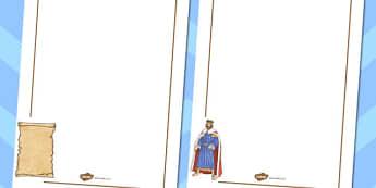 The Magna Carta Page Borders - magna, carta, page borders, border