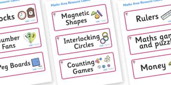 Cherry Tree Themed Editable Maths Area Resource Labels - Themed maths resource labels, maths area resources, Label template, Resource Label, Name Labels, Editable Labels, Drawer Labels, KS1 Labels, Foundation Labels, Foundation Stage Labels, Teaching