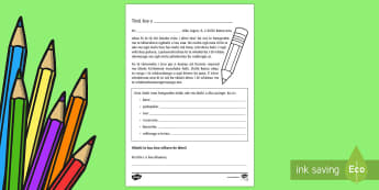 Back to School Teacher to Student Letter- Te Reo Maori - Back to School, Teacher to Student Letter, Tuhituhi, Te Reo Māori, Activity, worksheet, back to sch