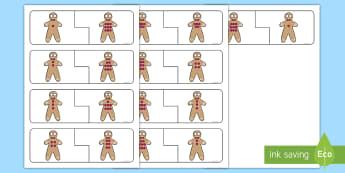 Gingerbread Man Number Bonds to 10 Matching Activity - The Gingerbread Man, Traditional Tales, mathematics, maths, number,number bonds to 10, adding, sums,