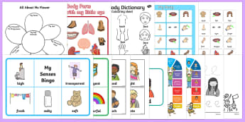 Top Ten Ourselves Activity Pack - Ourselves, all about me, body, human body