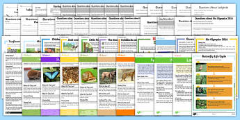 KS1 Mixed Reading Comprehensions Bumper Resource Pack