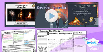 History: The Gunpowder Plot: Remember, Remember KS1 Lesson Pack 6