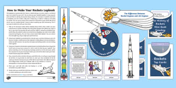 Rockets Lapbook - Home Education, Saturn V, V2, Apollo, Apollo missions, Sir Isaac Newton, Neil Armstrong, Moon landin