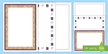 Ancient Greek Pattern Page Border Pack  - Ancient Greek Gods Display Borders - ancient greece, border, page border, independent writing