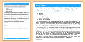 Policies Childminder Primary Resources Policies Procedures Paperwork