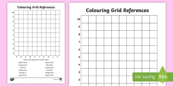 Colouring Grid References Worksheet - coordinates, coordinates worksheet, co-ordinates worksheet, find the coordinates, colouring coordinates, ks2 numeracy