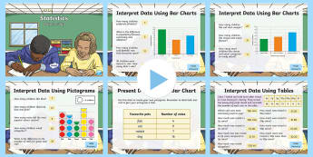 Year 3 Statistics Warm-Up PowerPoint  - KS2 Maths warm up powerpoints, statistics, Year 3 statistics, year 3 statistics, yr 3 statistics, yr