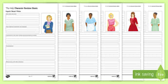 The Help Character Revision Sheets Lesson Pack