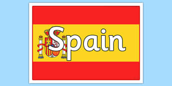 Spanish Flag Poster - spanish, flag, poster, display, spanish flag, spain