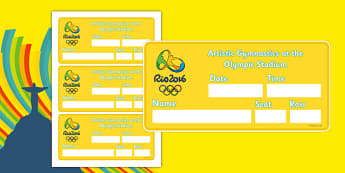 The Olympics Artistic Gymnastics Event Tickets - Gymnastics, Olympics, Olympic Games, sports, Olympic, London, 2012, event, ticket, tickets, entry, stadium, activity, Olympic torch, events, flag, countries, medal, Olympic Rings, mascots, flame