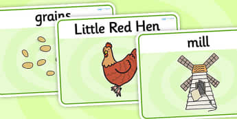 The Little Red Hen Basic Playdough Mats - the little red hen, little red hen playdough mats, little red hen sen playdough mats, sen play doh mats, sen mat