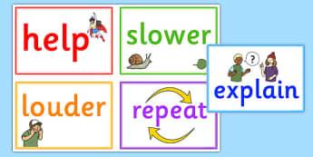 Speech Help Cards - speech, help, cards, help cards, speech help