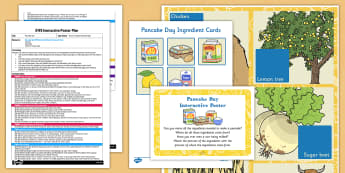 Pancake Day EYFS Interactive Poster Plan and Resource Pack - Shrove Tuesday, pancake day, eyfs